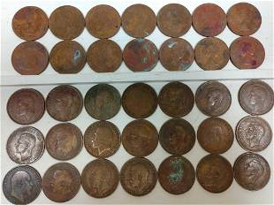 907-1967 Britain King & Queen Large Cent (35)