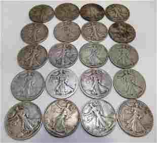 Walking Liberty Half Dollars (20)