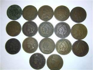 1887-1908 Indian Head Pennies (17)