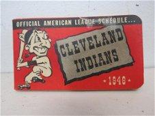 1948 Cleveland Indians League Schedule