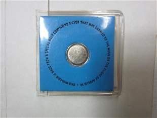 1971 Apollo 14- Collectors Mini Silver Coin