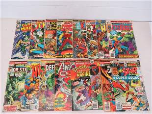 Marvel & DC Comic Books (16)