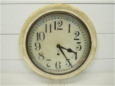 Early Key Wind School House Clock