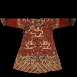 Ancient Imperial Kesi Dragon Robe