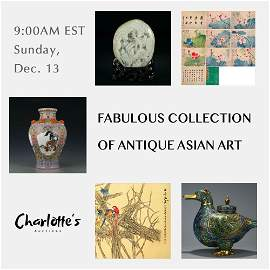 Fabulous Collection of Antique Asian Art