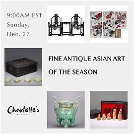 Fine Antique Asian Art of the Season