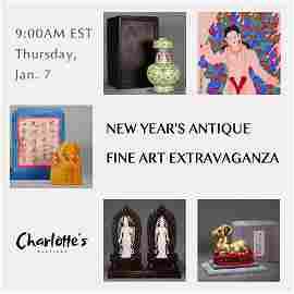 New Year's Antique Fine Art Extravaganza