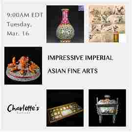 Impressive Imperial Asian Fine Arts