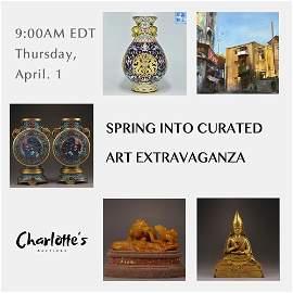 Spring Into Curated Art Extravaganza
