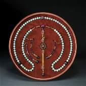 Jadeite Beaded Rosary Qing Dynasty