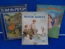 3 x old childrens books including Alice in wonderland,