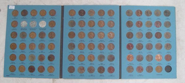 602: 89 LINCOLN PENNIES 1941-1973