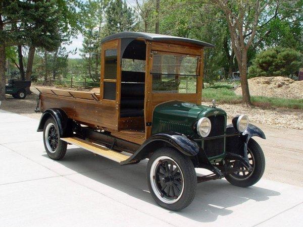 850: 1927 C CAB CHEVROLET 1 TON TRUCK VIN#T4617773