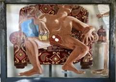Pia Cabanela Acrylic painting