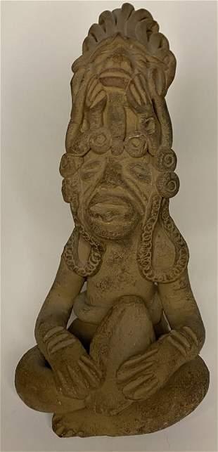 Pre-Columbian Mayan Figure
