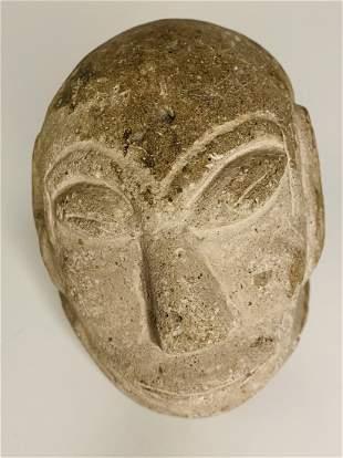 Pre-Columbian Mayan Head