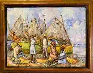 Fritz Louizor Oil Painting