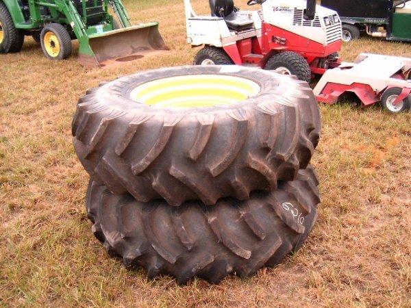 290: Titan 16.9X26 Tires on Rims