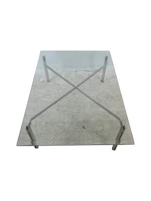 MCM Steel Coffee Table