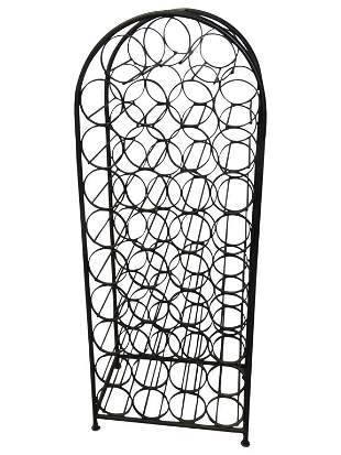39 Bottle Iron Wine Rack