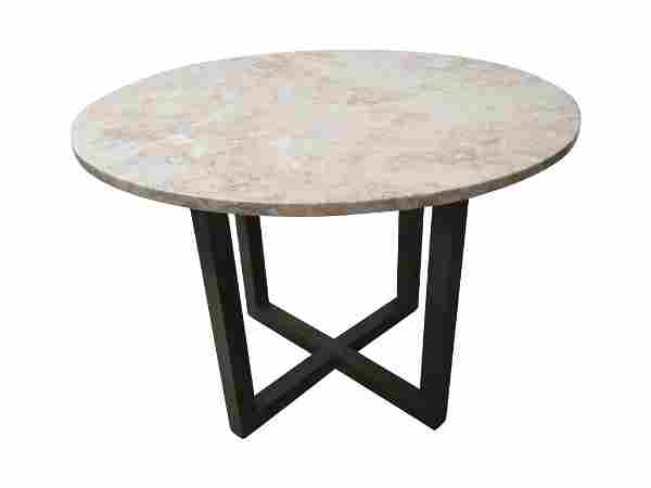 Marble Brass Base Dining table