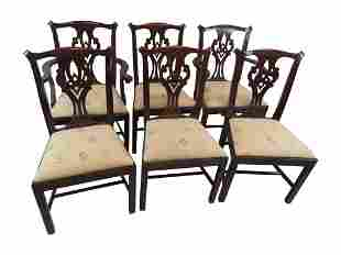 Henkel Harris Chippendale Dining Chairs
