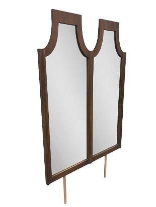 Double Mirror Dresser Wall