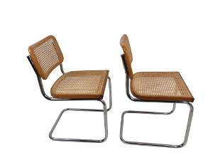2 Marcel Breuer Style Cesca Chairs