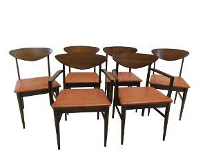 Set 6 MCM Dining Chairs