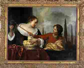 Unknown artist, Amsterdam School 17th century, Woman