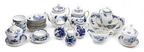 Antique porcelain service Royal Worcester 2nd half of