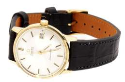 Omega Seamaster 14k yellow gold watch automatic with