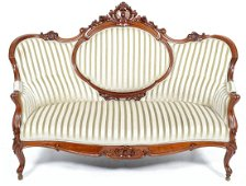 Antique mahogany butterfly bench, h.118 x w.180 x d.90