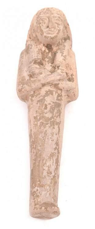 Antique Egyptian figurine (excavation)