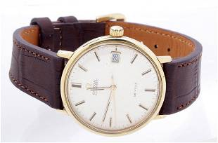 Omega de Ville, 14k gold watch, automatic with date and