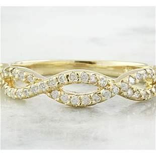 0.35 CTW Diamond 14K Yellow Gold Ring