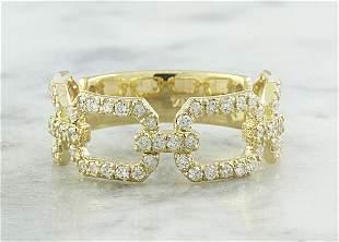 0.65 CTW Diamond 14K Yellow Gold Ring