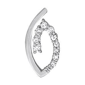 1.95 Carat Diamond Engagement 14K White Gold Journey