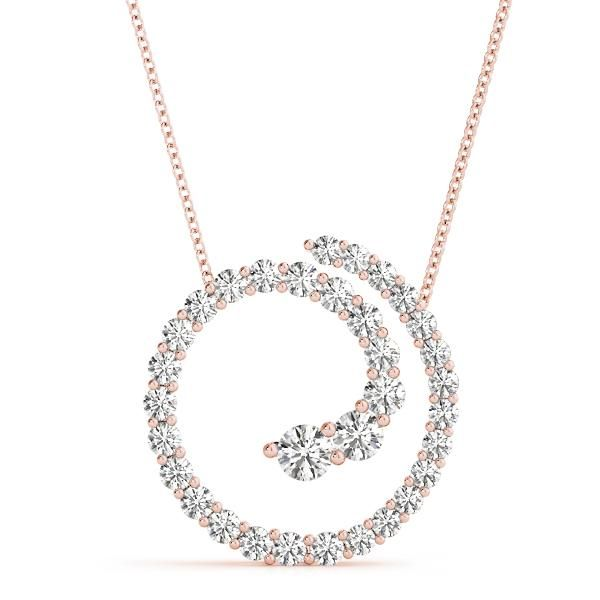 0.36 Carat Diamond Engagement 14K Rose Gold Journey