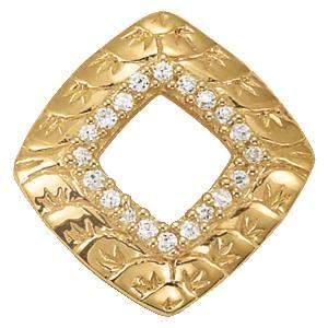 0.10 Carat Diamond Engagement 14K White Gold Pendant