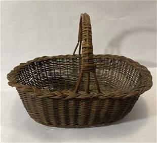 Antique Handled Basket