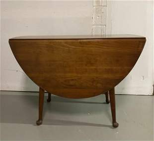 Stickley Cherry Valley Drop Leaf Table