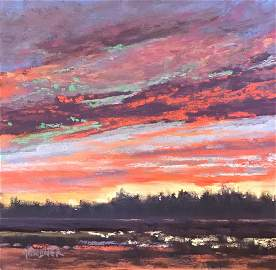 Copley Society: Red Sky, Dina Gardner