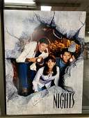 AUTOGRAPHED BAYWATCH NIGHTS PROMOTIONAL POSTER