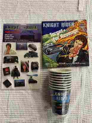 KNIGHT RIDER TOY LOT OF 3