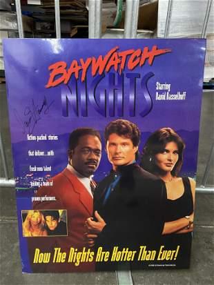 BAYWATCH NIGHTS PROMO POSTER