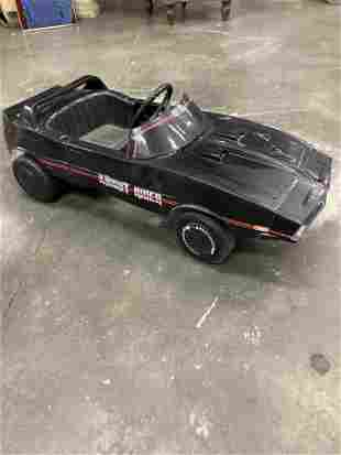 RARE KNIGHT RIDER PEDAL CAR AUTOGRAPHED