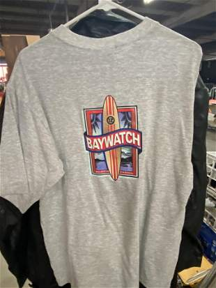 AUTOGRAPHED BAYWATCH TEE