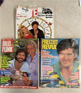 LOT OF 3 VINTAGE HOFF MAGAZINE COVERS