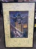 NIGHT OF 100 STARS AUTOGRAPHED POSTER